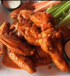Buffalo Chicken Wings make the best go-to appetizers. Yummy, easy, and quick-to-make. What's not to love of this American classic?