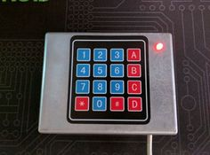 An easy little project for Arduino beginners that only costs $12 to make. When a person enters the correct code on the keypad, the box will play a secret message.