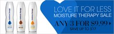 Moisture Therarpy Sale - Any 3/$9.99 at www.youravon.com/mdalesandris