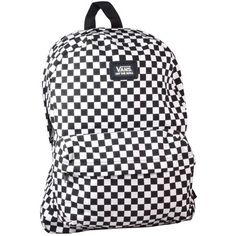 nouveauté 2014 Vans - Old Skool II Backpack Checker Black/White