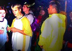 rave party ravers dance