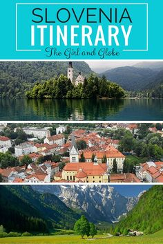 Where should you go and what should you do with a week in Slovenia? Check out this extensive one week itinerary to help you plan your trip. #Slovenia