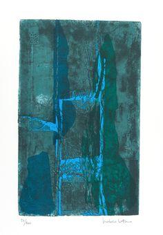 VARIAZIONE BLU Serigrafia di Isidoro Cottino stampata su carta Tintoretto Neve 300gr/mq formato 50x70 - 10 colori 120 copie in numeri arabi e 35 in cifre romane Stampatore SERI-GRAFICA di Maurizio Rivetti - Cambiano (TO)  In mostra fino al 15 Gennaio, presso InsideMind, Via Alba 53 Cuneo