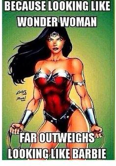 Because i am a wonder woman