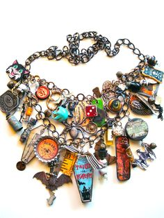 Halloween necklace by Robin Sanchez