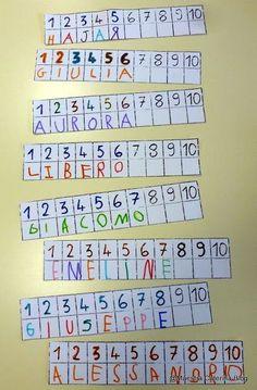 Kindergarten Names, Preschool Names, Preschool Literacy, Letter Activities, Kindergarten Activities, Preschool Activities, Name Practice, Name Crafts, Poetry For Kids