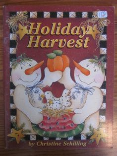 Holiday Harvest By Christine Schilling  by CraftersCabinStudio