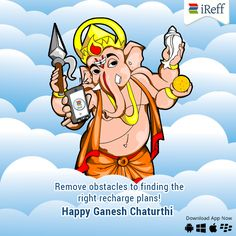 iReff wishes you a very Happy Ganesh Chaturthi.