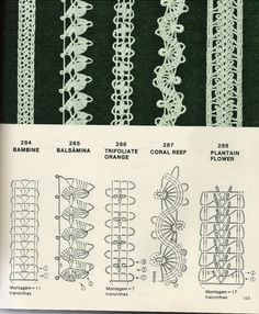 more lace diagrams