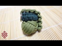 Paracord Monkey's Fist Made Easy with this Simple DIY Jig - YouTube