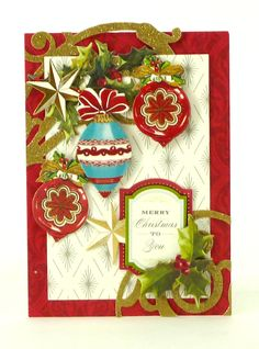 © Anna Griffin, Inc. ~ Holiday Trimmings Card Making Kit