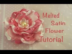 Melted Satin Flower Tutorial - modelada y crispadaBeautiful and Easy Singed (Melted) Fabric Flower TutorialNo templates, One Piece of Fabric Only! Fabric Flower, Tutorial, Do It .Chic and Cheap Shabby Scrappy Fabric FlowersHow Cloth Flowers, Satin Flowers, Faux Flowers, Diy Flowers, Fabric Flowers, Paper Flowers, Flores Shabby Chic, Shabby Chic Flowers, Ribbon Crafts