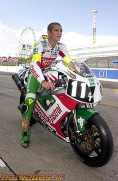 Greatest rider on a best Honda racing bike !