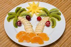 creatieve fruitsalade