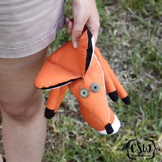 Sew your own fox - The Little Prince DIY