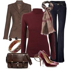"""""""business casual for fall"""" by meganpearl on Love this! Work Fashion, Fashion Outfits, Womens Fashion, Fashion Trends, Style Work, My Style, Mode Jeans, Business Casual Attire, Vogue"""