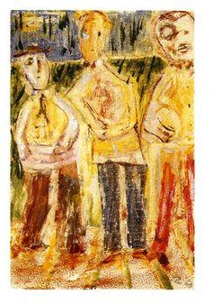 1943.11.17 Cesare Zavattini, Tre figure | #zavattini