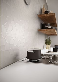 #ColorCode | #Marazzi | #kitchen | #walltiles | #ceramics | #decoration | #3D