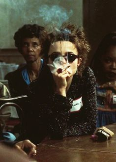 "Helena Bonham Carter as Marla Singer in ""Fightclub"""