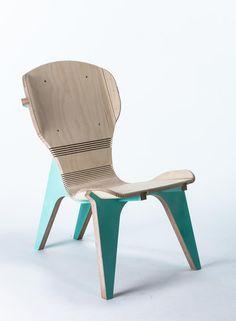 Kerf Chair designed by Boris Goldberg for https://opendesk.cc