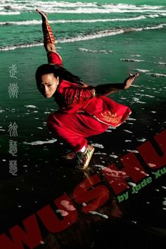 Xu Huihui (徐慧慧, known professionally as Jade Xu) - a Chinese martial arts actress and multiple World Wushu Champion.