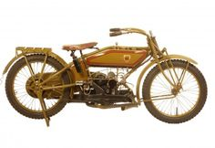 "George Pardos Collection ""Evolution of the Harley-Davidson Motorcycle"": 1919 Harley Davidson 19W Sport Twin"