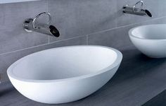 Moloko Stone Vessel Basin, Bathroom - Basins - Above Counter Basins