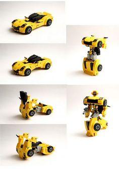 https://flic.kr/p/K3Lf1o | Deformation | Shape to form the robot car