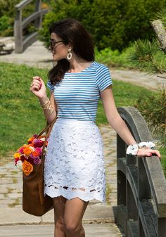 Classy Girls Wear Pearls: Bag of Roses Estilo Preppy, Spring Work Outfits, Spring Shoes, Classy Girl, Girls Wear, Preppy Style, Fashion Over, Fashion Photo, Spring Summer Fashion