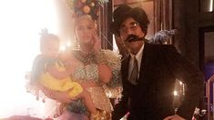 Chrissy Teigen and John Legend Dress as Carmen Miranda and Groucho Marx With Baby Pineapple Luna