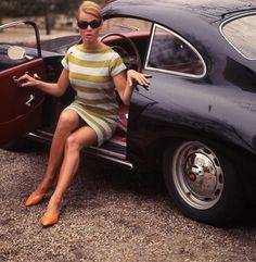 Oh, there's a Porsche 356 there somewhere. Porsche 356, Porsche Classic, Classic Cars, Porsche Sports Car, Porsche Models, Ferdinand Porsche, Vintage Sports Cars, Vintage Cars, Sexy Cars