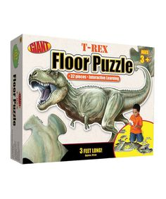 Look what I found on #zulily! Carson Dellosa T-Rex Floor Puzzle Set by Carson Dellosa #zulilyfinds