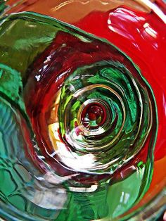 Glass Abstract 573 Print By Sarah Loft
