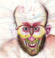 Kunstenaar maakt tientallen zelfportretten onder invloed van iedere denkbare drug - Froot.nl