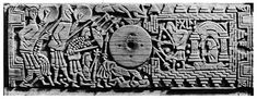 Franks Casket   This carved whalebone casket was made by Viking craftsmen working in Northumbria ca. the late 7th cent. A.D.