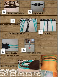 DIY Bra For Backless Tops #DIY #Sew #Sewing #Clothes #Bras