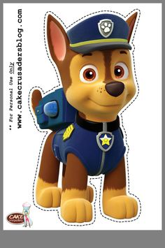 'PAW Patrol Characters' Sticker by in 2020 Paw Patrol Birthday Theme, Dog Birthday, 4th Birthday Parties, Birthday Ideas, Paw Patrol Cupcake Toppers, Paw Patrol Cake, Paw Patrol Party Invitations, Imprimibles Paw Patrol, Paw Patrol Party Decorations