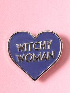 Witchy Woman Enamel Pin - Gypsy Warrior