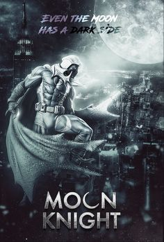fan-made poster brings Moon Knight to MCU Comic Book Characters, Marvel Characters, Marvel Movies, Comic Character, Comic Books Art, Comic Art, Moon Knight Cosplay, Marvel Moon Knight, Moon Knight Movie