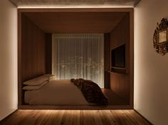 "Public hotel by Herzog & de Meuron has bedrooms ""like cabins on a yacht"""