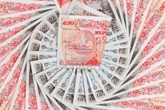 Picture of 50 pound sterling bank notes closeup view business background stock photo, images and stock photography. Money Images, Money Pictures, Libra, Pound Money, Pound Sterling, Win For Life, Money Notes, Wealth Affirmations, My Money