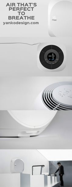 Air washers (from what I read up) are basically humidifiers, but they work as dehumidifiers too, and they also purify the air you breathe. Usually placed as a 2-in-1 solution, an Air Washer is perfect for situations where air purity and climate control are paramount. www.yankodesign.com