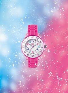 #icewatch #princess #pink #forkids #children #watch #colourful #shoponline #juwelierleomueller Ice Watch, Ice Princess, Rolex Watches, Children, Pink, Color, Infinity, Crystals, Colour