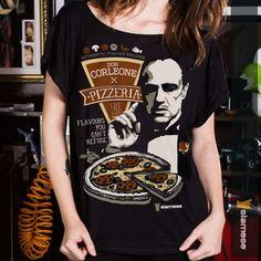 Camiseta Feminina Viscose | Don Corleone | Tamanho Único