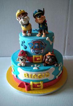 Cake PAW PATROL  - Cake by Natascia ciuffatelli