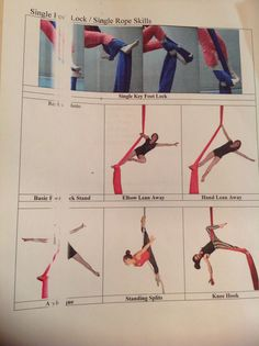 Silks- Beginner- Aerial Foot Lock Steps!