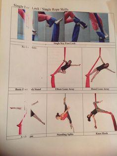Silks- Beginner- Aerial Foot Lock Steps!