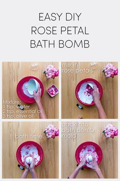Not only can you fill your garden with beautiful blooms, now you can fill your bath tub, too. This quick and easy DIY bath bomb made with gorgeous Endless Summer® hydrangea petals and scented oils will make you feel as if you're relaxing in a field of flowers. #FlowerPetals #DIY
