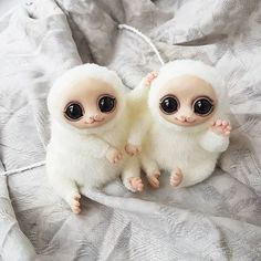 Cute Creatures, Magical Creatures, Fantasy Creatures, Cute Monsters, Little Monsters, Marionette, Kawaii, Cute Toys, Soft Sculpture