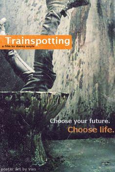 Trainspotting (1996)  Director: Danny Boyle  Ewan McGregor, Ewen Bremner, Robert Carlyle, Kelly Macdonald and Jonny Lee Miller  Profane could be beautiful…